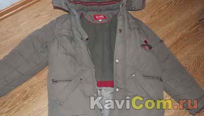 Куртка зимняя фирмы KIKO для мальчика-подростка очень теплая, размер 44-46, рост 158 (можно на