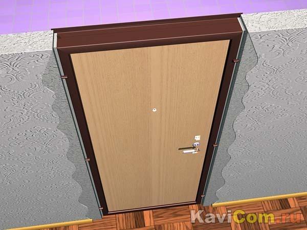 """Дверная коробка """" Строительные Работы"""