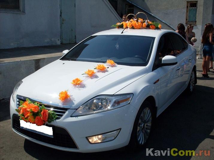 Аренда автомобиля Ford Mondeo белы…