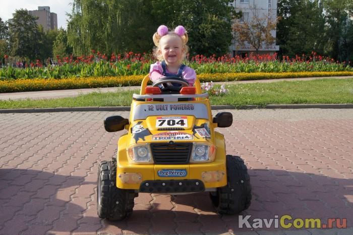 Первое вождение автомобиля