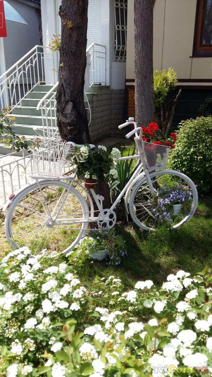 Велосипед на пенсии.