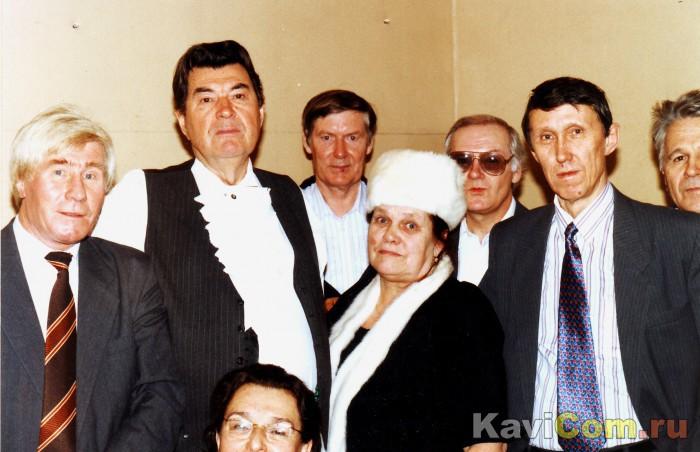 После концерта Бориса Штоколова