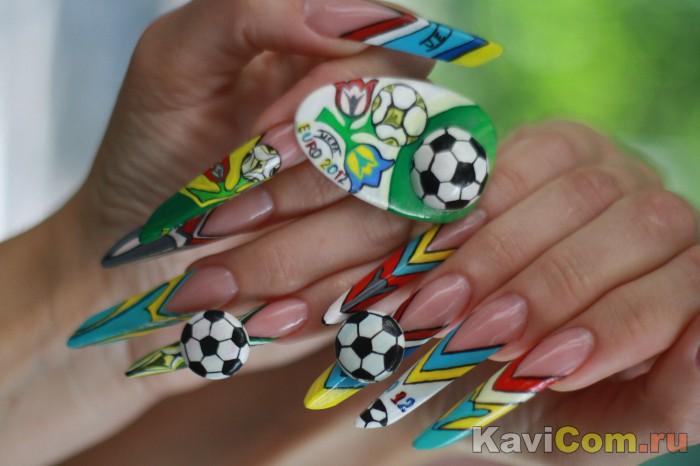 Ногти ЕВРО 2012