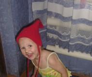 А шапка для красоты :)