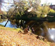 Рыбалка на территории брестской крепости