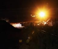 Стойленский карьер ночью