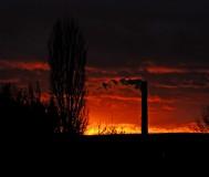 Закат в Старом Осколе