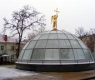 Усыпальница святителя Иосафа.