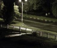 """Ночь, улица, фонарь, дождь, """"Остановка запрещена"""""""