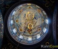 Свод купола Новоафонского монастыря