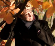 Осенняя на закате.