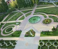 В микрорайоне Олимпийский....