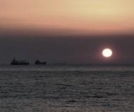 Закат на рейде