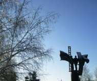 памятник болгаро-советской дружбы (вид сзади)