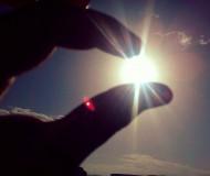 Солнышко и я, навеке друзья!!!