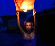 Запуск фонарика желаний