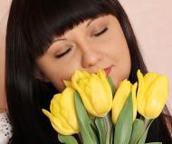 Тюльпаны поют о весне