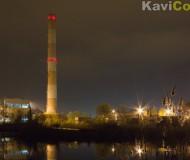 Ночная, индустриально-романтическая