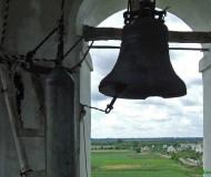 с колокольни