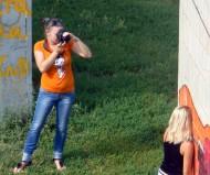 Фотосессия в трущобах...