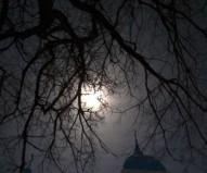 Ночь. Крещение. Полная луна