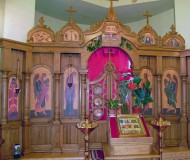 Алтарь храма Иоанна Крестителя