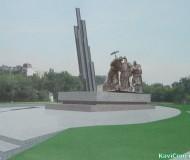 Проект памятника строителям железной дороги Старый Оскол-Ржава