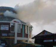 Пожар на рынке Восточный