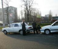 ДТП на въезде на улицу Матросова