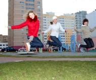 Прыжок! =)