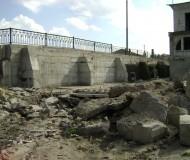 Ремонт моста близ набережной