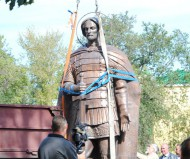 Воздвижение памятника Александра Невского