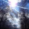 Небо весны