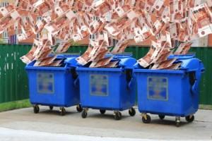 В области снизили тариф на вывоз мусора