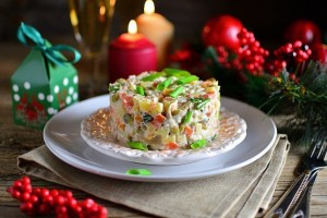 Оливье. Извилистая история новогоднего салата