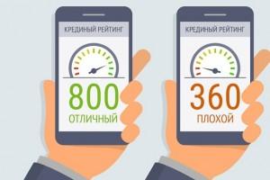 Россиянам будут присваивать персональный кредитный рейтинг
