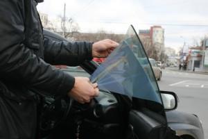 Рейдовые мероприятия по тонировке с участием Госинспекторов области