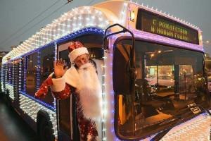 Расписание движения общественного транспорта в новогодние праздники