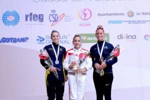 Старооскольская гимнастка - победитель этапа Кубка мира по прыжкам на батуте