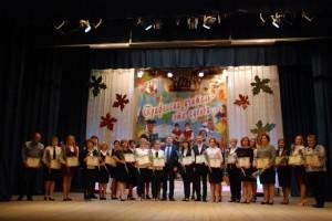 В Старом Осколе поздравили учителей