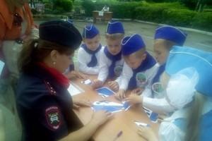 В Старом Осколе госавтоинспекторы провели для школьников олимпиаду по ПДД