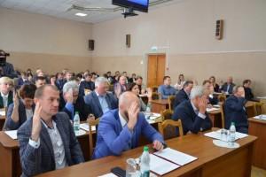 Состоялось двадцать восьмое заседание Совета депутатов Старооскольского городского округа