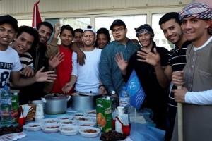 Студенты СОФ МГРИ приняли участие в Дне национальностей