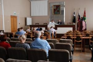 Внесение изменений в устав округа обсудили на публичных слуганиях
