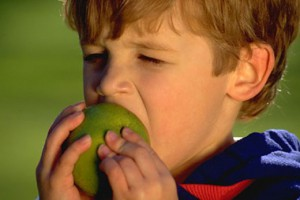 «Пока яблоко ел…»