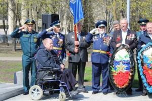 Проведение митинга, посвященного 35-й годовщине со дня аварии на ЧАЭС