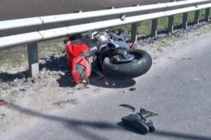 ДТП с участием мотоциклиста