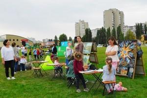 В Старом Осколе прошел первый семейный ART-weekend