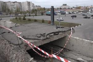 Путепровод над проспектом Угарова дождался ремонта