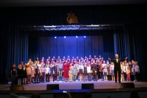 Спели вместе с московским хором